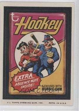 1974 Topps Wacky Packages Series 9 #HOOK - Hookey