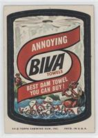 Biva Towels [Good to VG‑EX]
