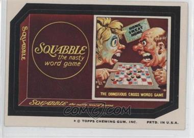 1974 Topps Wacky Packages Series 9 #N/A - Squabble