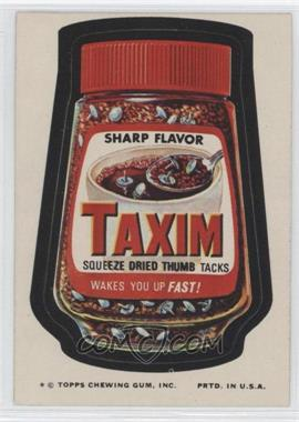 1974 Topps Wacky Packages Series 9 #N/A - Taxim
