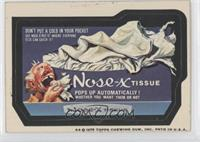 Nose-X Tissue [Good to VG‑EX]