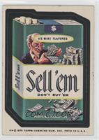 Sell'em Cigarettes [Good to VG‑EX]