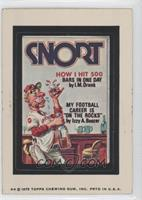 Snort Magazine [Good to VG‑EX]