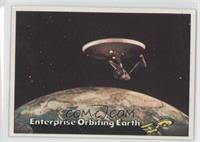 Enterprise Orbiting Earth