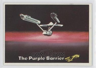 1976 Topps Star Trek - [Base] #19 - The Purple Barrier