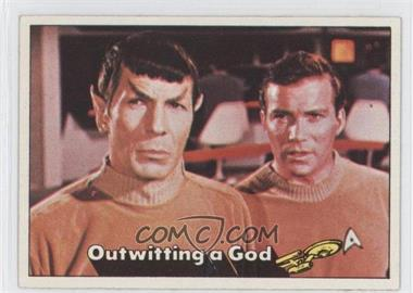 1976 Topps Star Trek - [Base] #20 - Outwitting a God