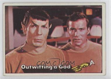 1976 Topps Star Trek - [Base] #20 - Outwitting a God [GoodtoVG‑EX]