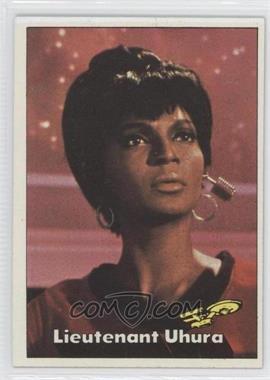 1976 Topps Star Trek - [Base] #6 - Lieutenant Uhura