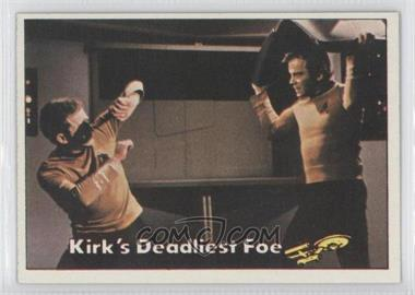 1976 Topps Star Trek - [Base] #84 - Kirk's Deadliest Foe