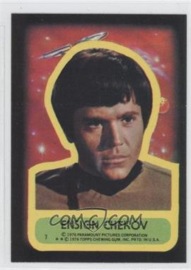 1976 Topps Star Trek - Stickers #7 - Ensign Chekov