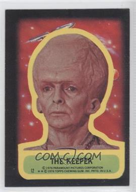 1976 Topps Star Trek Stickers #12 - [Missing]