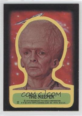 1976 Topps Star Trek Stickers #12 - The Keeper