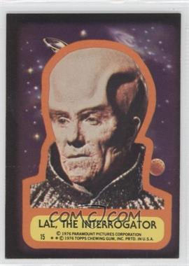 1976 Topps Star Trek Stickers #15 - Lal, The Interrogator