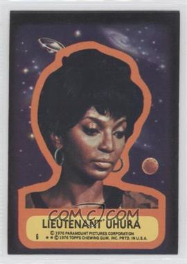 1976 Topps Star Trek Stickers #6 - [Missing]