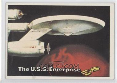 1976 Topps Star Trek #1 - The U.S.S. Enterprise