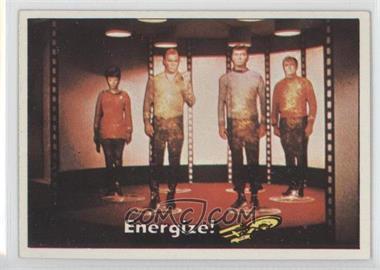 1976 Topps Star Trek #11 - Energize!