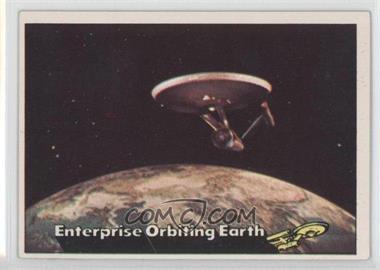 1976 Topps Star Trek #18 - Enterprise Orbiting Earth