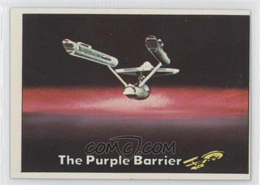 1976 Topps Star Trek #19 - The Purple Barrier