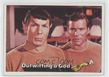 1976 Topps Star Trek #20 - Outwitting a God [GoodtoVG‑EX]
