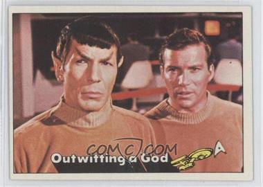 1976 Topps Star Trek #20 - Outwitting a God