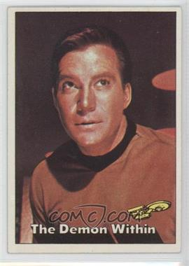 1976 Topps Star Trek #30 - The Demon Within