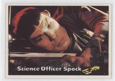 1976 Topps Star Trek #4 - Science Officer Spock