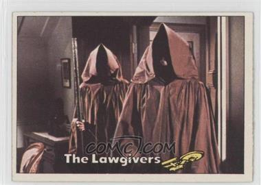 1976 Topps Star Trek #41 - The Lawgivers