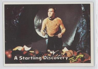 1976 Topps Star Trek #45 - A Startling Discovery