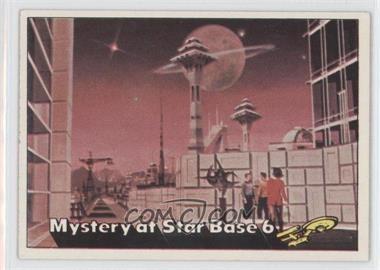 1976 Topps Star Trek #49 - Mystery at Star Base 6