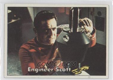 1976 Topps Star Trek #5 - Engineer Scott