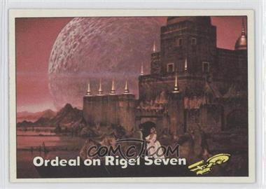 1976 Topps Star Trek #52 - Ordeal on Rigel Seven