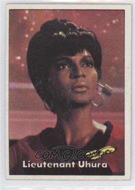 1976 Topps Star Trek #6 - Lieutenant Uhura