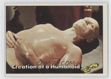 1976 Topps Star Trek #75 - Creation of a Humanoid