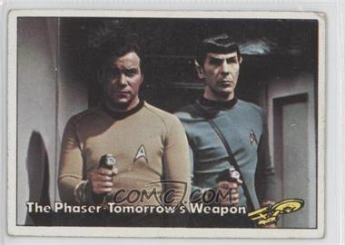 1976 Topps Star Trek #8 - The Phaser Tomorrow's Weapon [Good to VG‑EX]