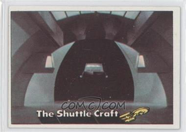1976 Topps Star Trek #9 - The Shuttle Craft