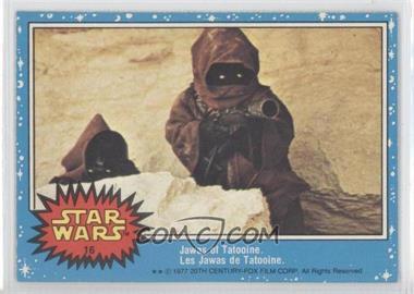 1977 O-Pee-Chee Star Wars - [Base] #16 - Jawas Of Tatooine