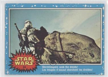 1977 O-Pee-Chee Star Wars - [Base] #24 - Stormtroopers Seek The Droids!
