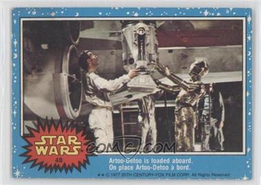 1977 O-Pee-Chee Star Wars - [Base] #48 - Artoo-detoo
