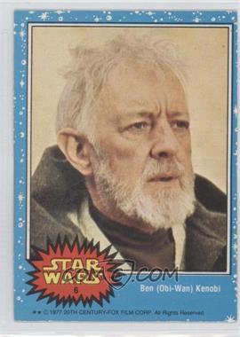 1977 O-Pee-Chee Star Wars - [Base] #6 - Ben (Obi-Wan) Kenobi
