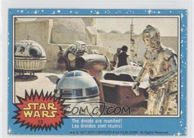 1977 O-Pee-Chee Star Wars #12 - The Droids Are Reunited!