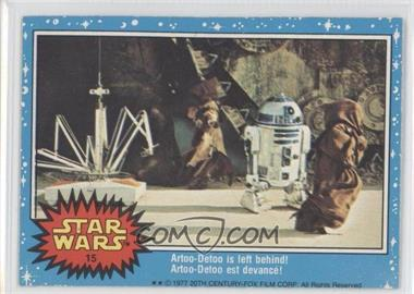 1977 O-Pee-Chee Star Wars #15 - Artoo-Detoo is left behind!