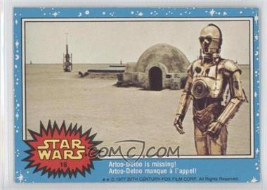 1977 O-Pee-Chee Star Wars #18 - Artoo-detoo Is Missing!