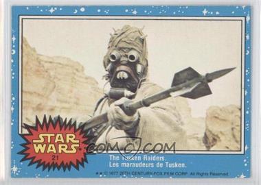 1977 O-Pee-Chee Star Wars #21 - [Missing]