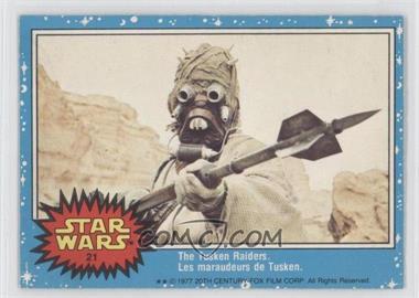 1977 O-Pee-Chee Star Wars #21 - The Tusken Raiders