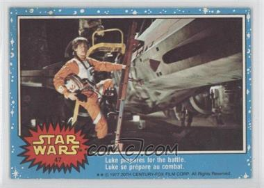 1977 O-Pee-Chee Star Wars #47 - [Missing]