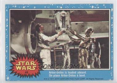 1977 O-Pee-Chee Star Wars #48 - [Missing]