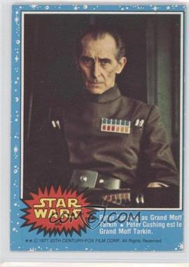 1977 O-Pee-Chee Star Wars #60 - Grand Moff Tarkin