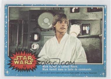 1977 O-Pee-Chee Star Wars #61 - Mark Hamill In Control Room