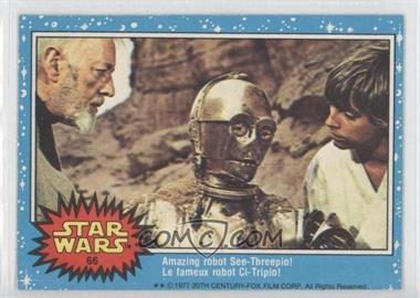 1977 O-Pee-Chee Star Wars #66 - Amazing Robot See-threepio!