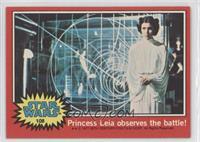 Princess Leia Observes the Battle!